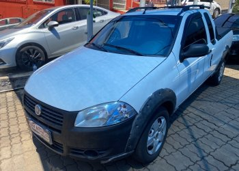 FIAT STRADA HARD WORKING 1.4 (FLEX) (CABINE ESTENDIDA) 2013